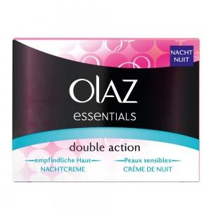 Olaz Essentials Basispflege Double Action Nachtcreme
