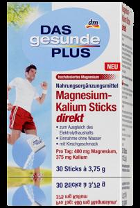 DAS gesunde PLUS Magnesium-Kalium Sticks direkt von dm