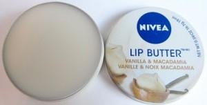 nivea lip butter vanille macadamia